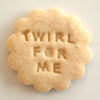 Twirl for Me Cookie