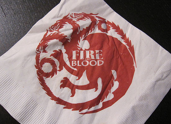 Game of Thrones Napkin