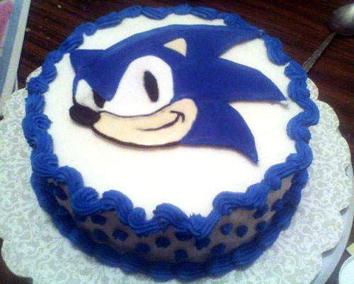 Sonic The Hedgehog Cake Fictional Food