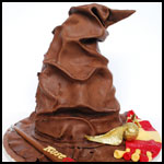 Sorting Hat Cake 8