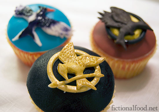 The Hunger Games Cupcake