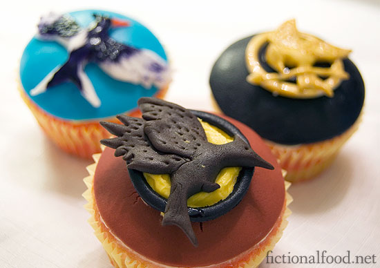 Catching Fire Cupcake