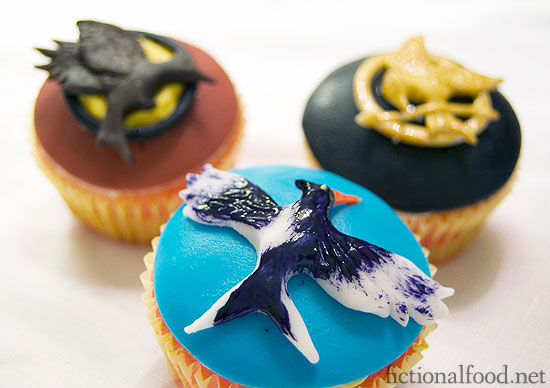 Mockingjay Cupcake