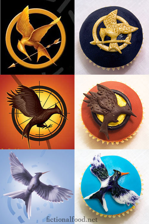 Hunger Games Trilogy Cupcakes