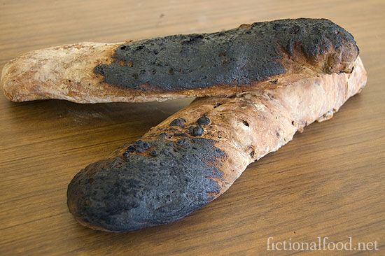 Peeta's Burnt Walnut and Raisin Bread