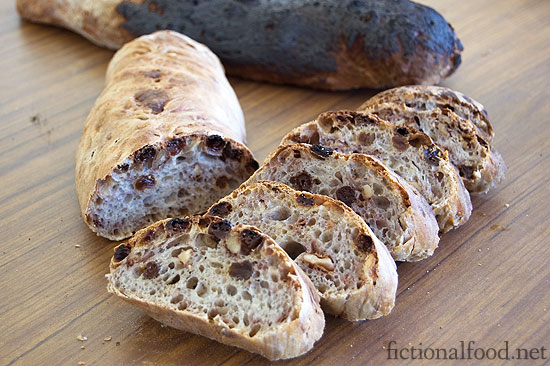 Peeta's Burnt Nut and Raisin Bread