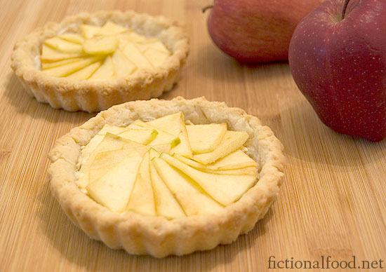 ... see my recipe for Mellark's Bakery Goat Cheese and Apple Tarts