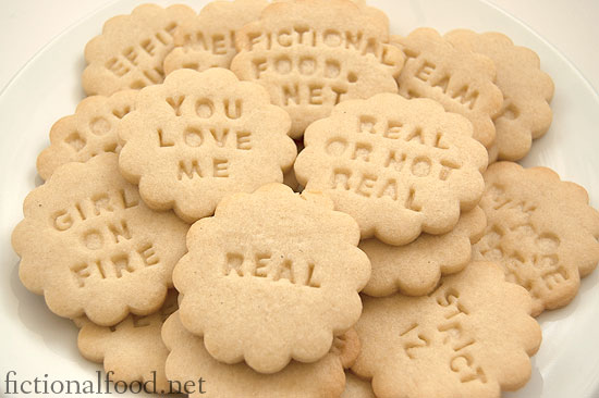 Sweethearts - The Hunger Games Cookies