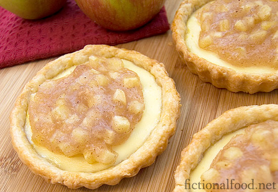 Goat Cheese and Apple Tarts