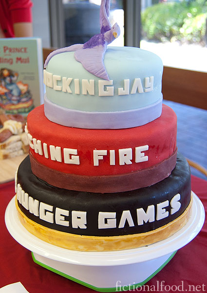 The Hunger Games Trilogy Cake