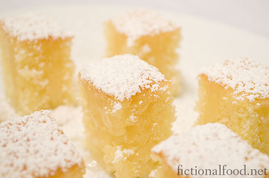 Frosted Lemon Cakes