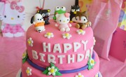 Hello Kitty and Friends Birthday Cake
