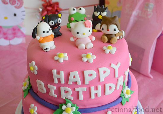 Hello Kitty And Friends Birthday Cake - Cake birthday games