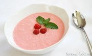 The Capitol&#8217;s Frothy Raspberry Soup