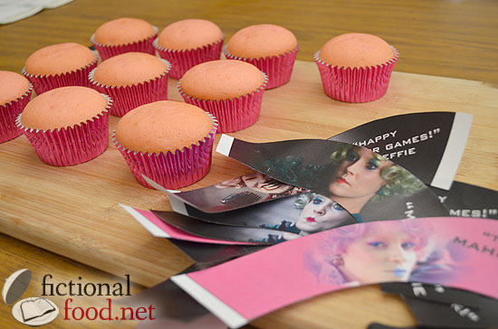 Plain Cupcakes with Effie Wrappers