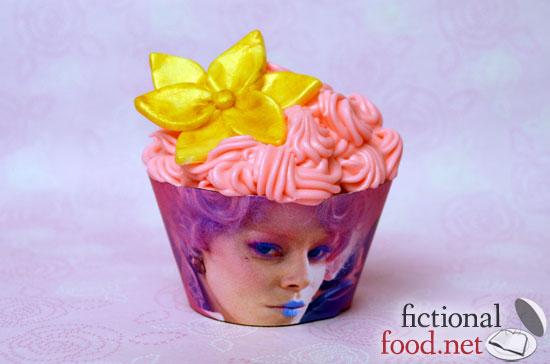 Pink Effie Trinket Cupcake