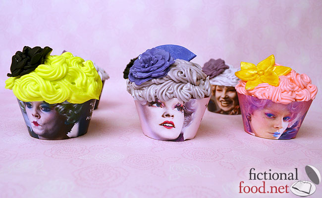 Effie Trinket Cupcakes