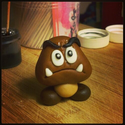 Fondant Goomba