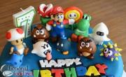Super Mario Galaxy Cake