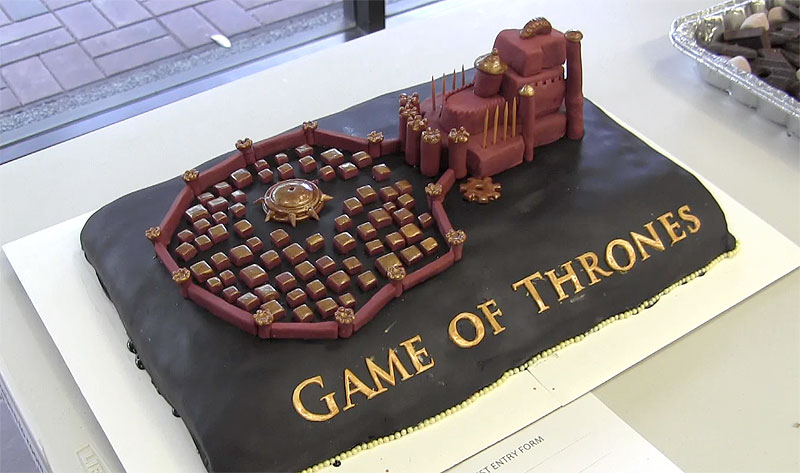 The Sacking Of A Kings Landing Cake