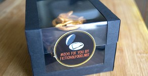 Boxed Mockingjay Cupcake