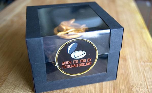 Fictional Food's Mockingjay Cupcake on ABC's Nightline
