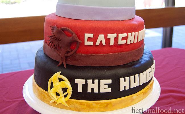 Fine Fictional Food The Hunger Games Trilogy Cake Funny Birthday Cards Online Elaedamsfinfo