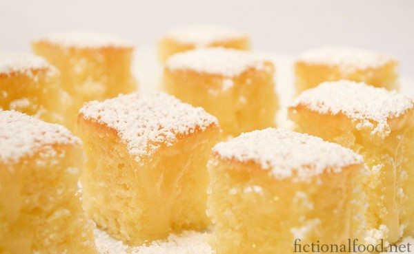 A Feast Of Ice And Fire Lemon Cakes Recipe