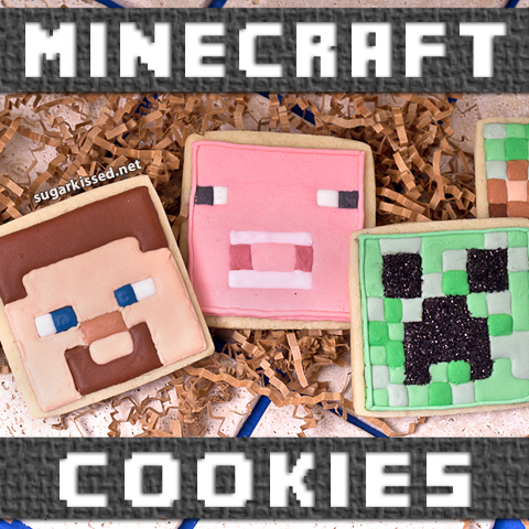 Fictional Food: Minecraft Cookies